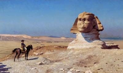 Napoleon at the Sphinx